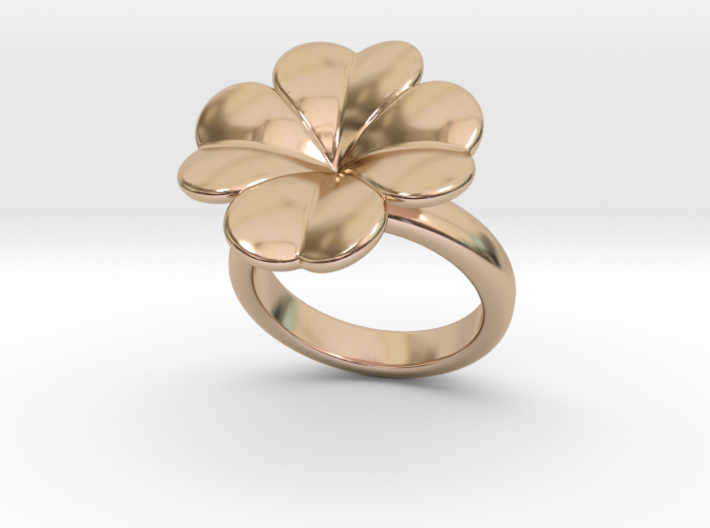 Lucky Ring 30 - Italian Size 30 3d printed