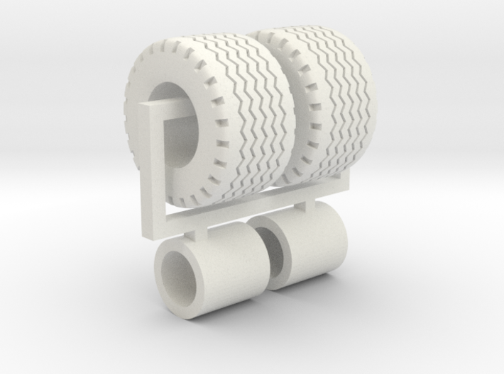 1/64 19.0/45-17 AW708 Implement wheels & Tires 3d printed