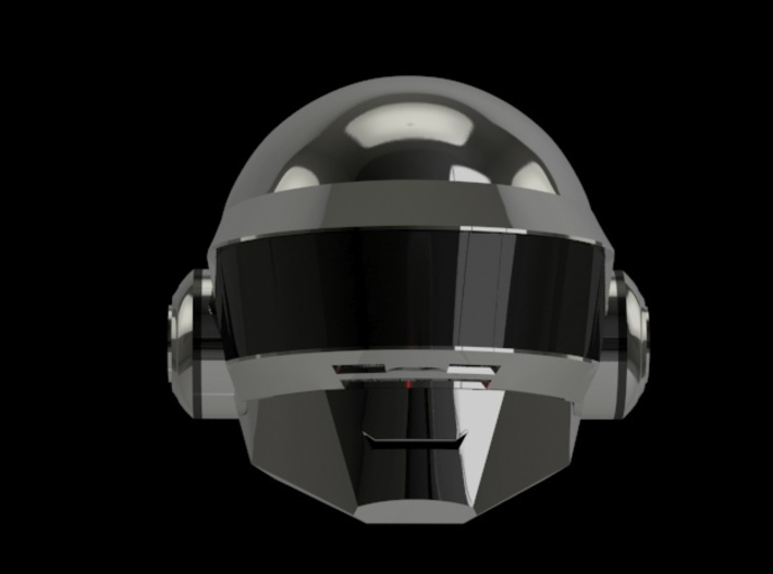 Daft Punk Thomas SMILEY helmet - 2mm wall 3d printed