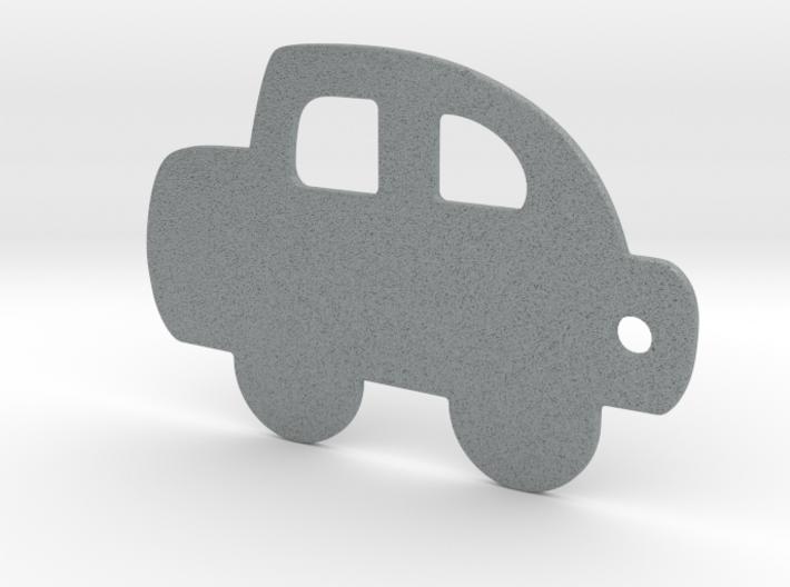 Car keychain 3d printed
