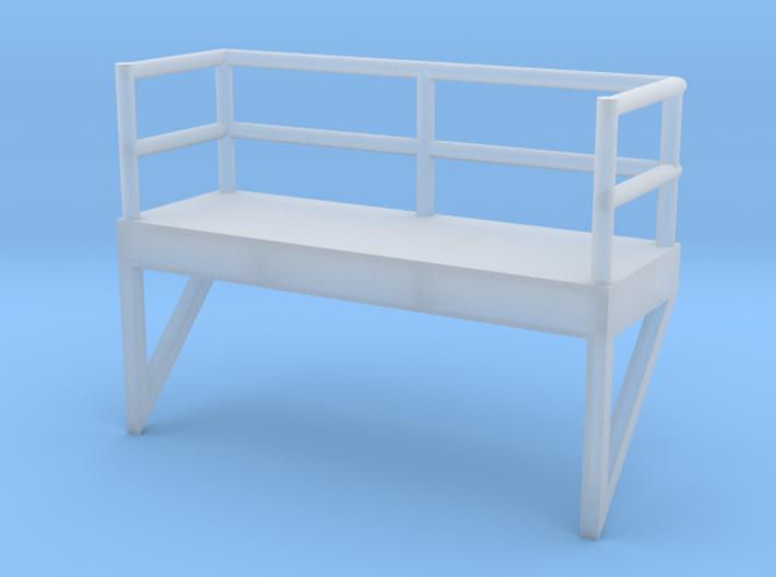 'N Scale' - 10' Ladder Platform 3d printed