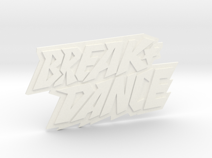 Magnetaufsatz Break Dance Logo 3d printed