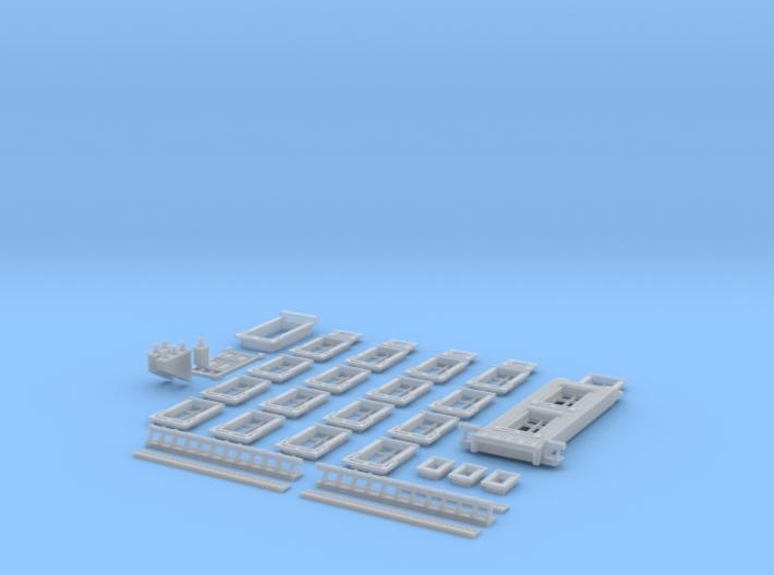 NVIM12 - City buildings 3d printed