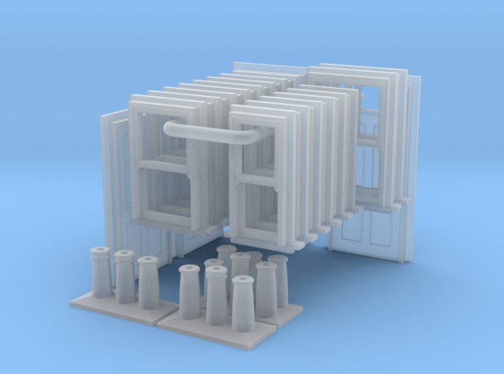 T022 3D Components V2 N Scale 3d printed