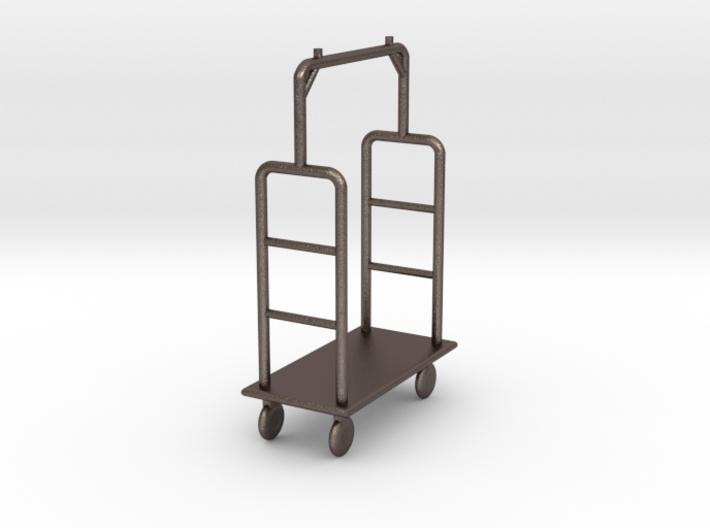 1:48 Luggage Cart 3d printed