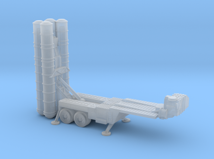 S-400 Missiles Deployed 6mm 3d printed