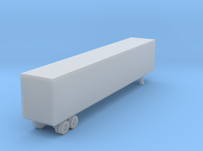53 Foot Box Trailer - Nscale 3d printed