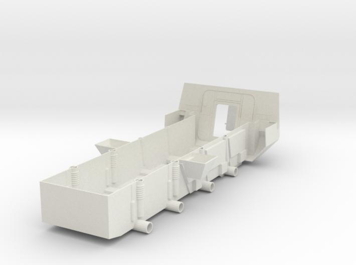 Stryker APC Bottom(1:18 Scale) 3d printed