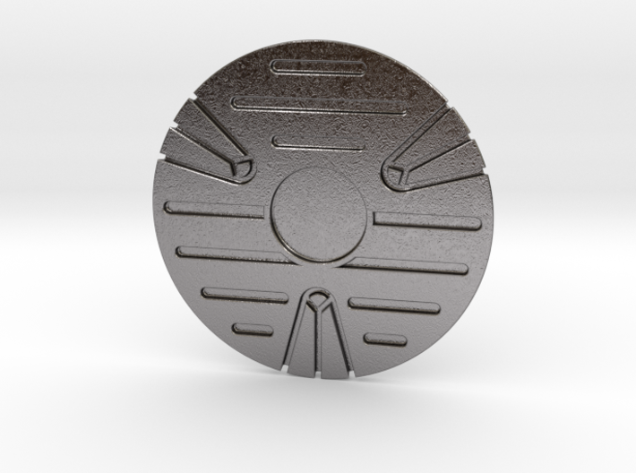 Jedi Holoprojector Plate 3d printed