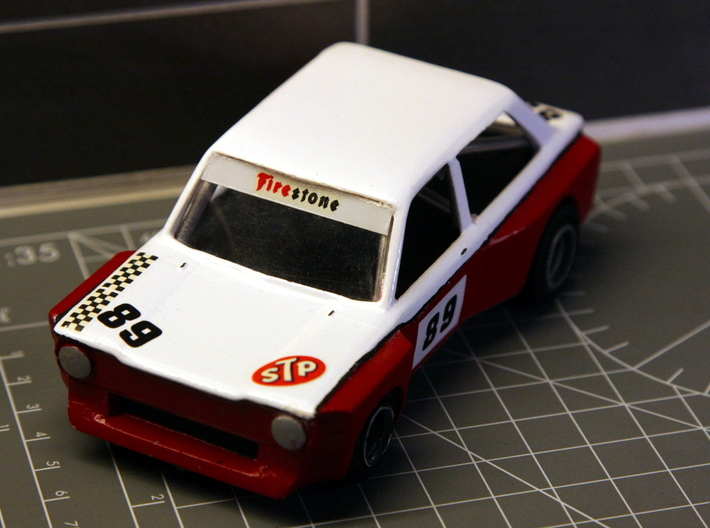 Imp Super Saloon 1:32 3d printed Initial prototype build