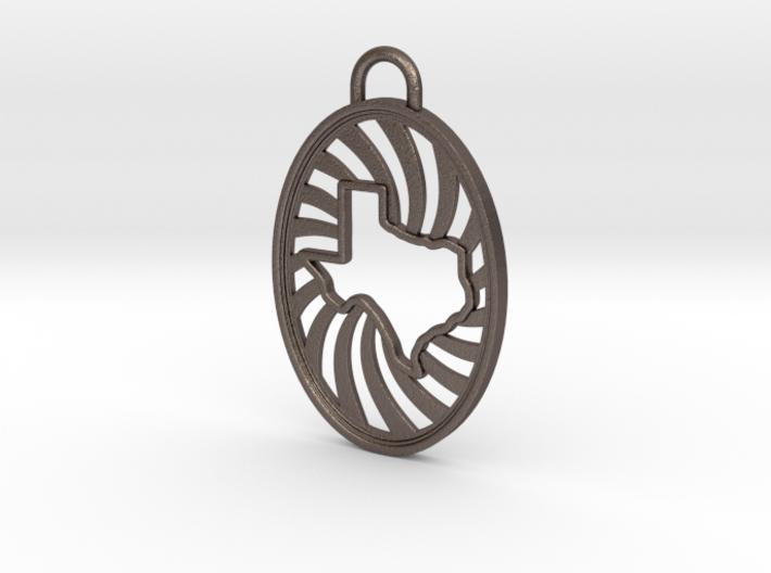 Texas Keychain 3d printed