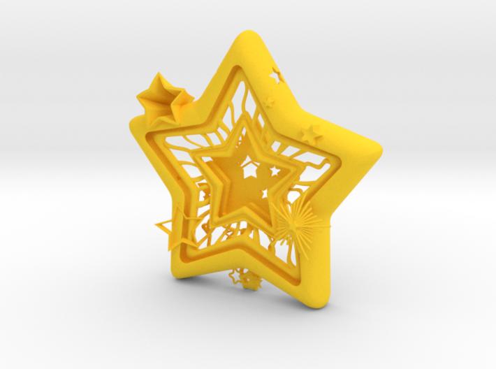 Star Frame 3d printed