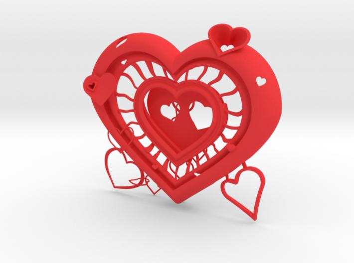 Heart Frame 3d printed