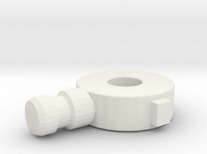 Replacement Knee Joint for Rockin' Action Megaman 3d printed