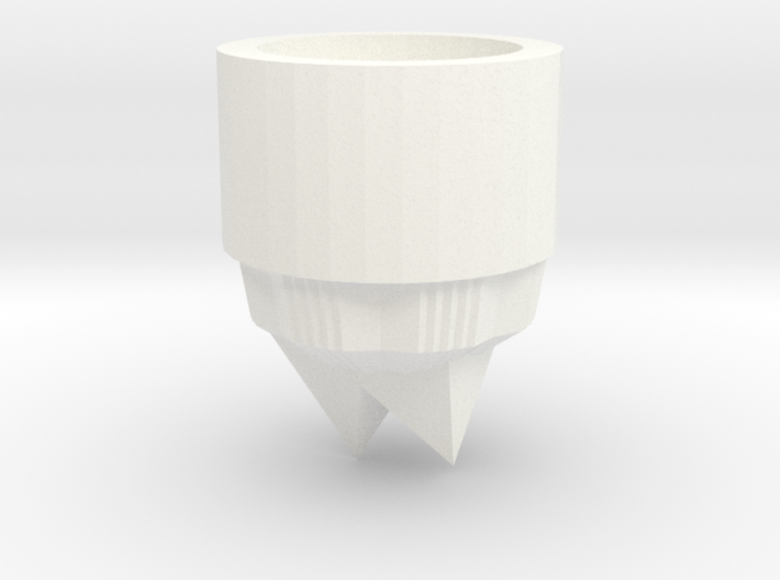 Crystal lightsaber Pommel 3d printed