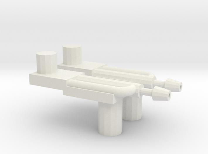 Defensor Chestpeg 3d printed