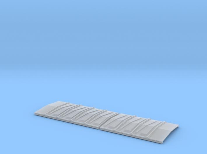 EV Caboose Roof Dia No Blank 3d printed