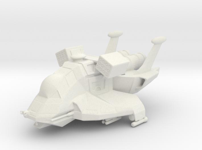 Raptor, Combat in Flight (Battlestar Galactica) 3d printed