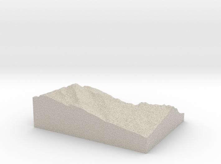 Model of Einshorn 3d printed