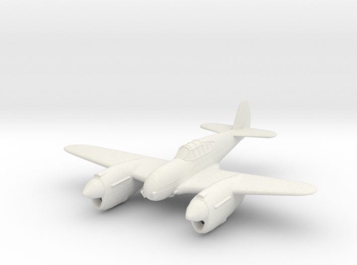 1/144 Curtis Twin P-40 'Twister' 3d printed