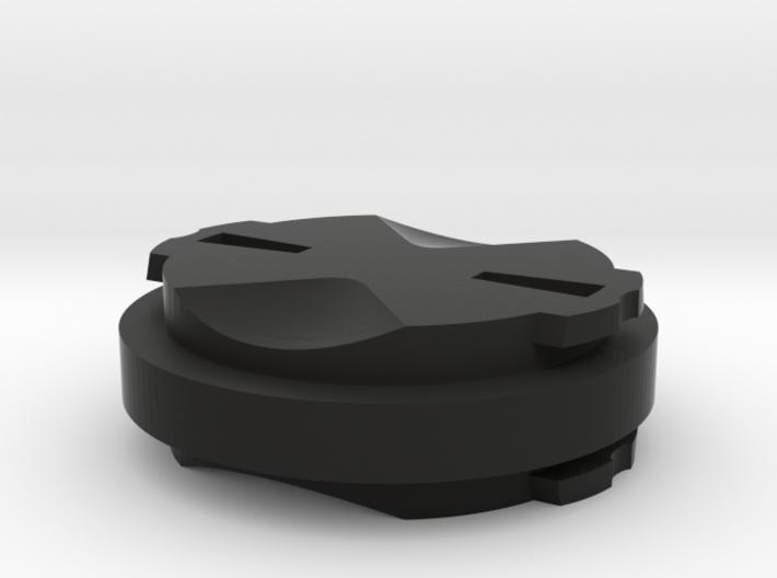 Garmin Edge Quarter Turn Male To Male Mount 3d printed