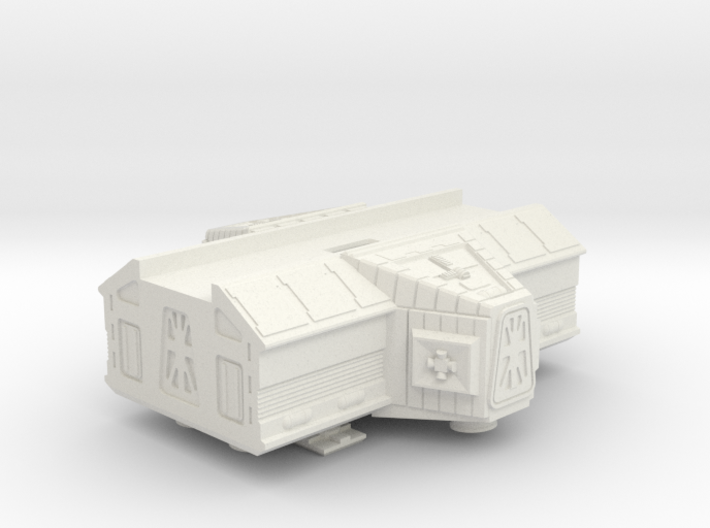 Space 1999 Laboratory Pod for Dinky Eagle 3d printed
