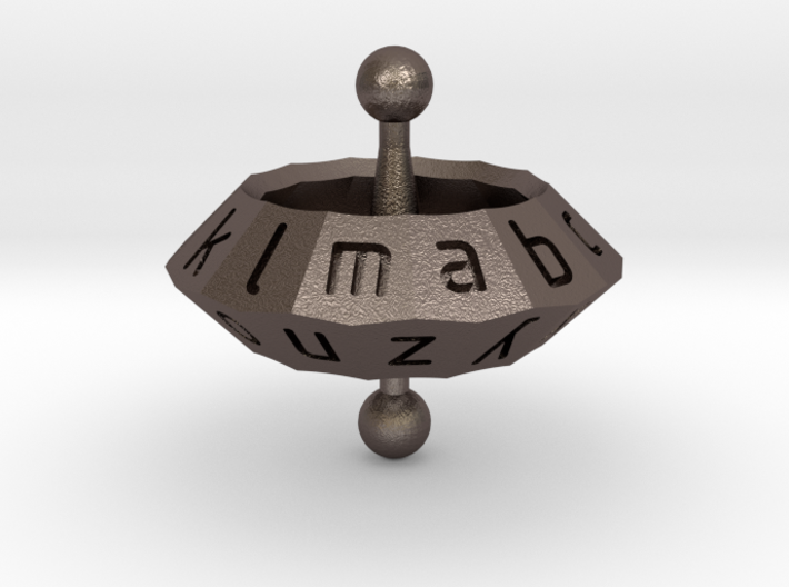 Space Alphabet (large) 3d printed