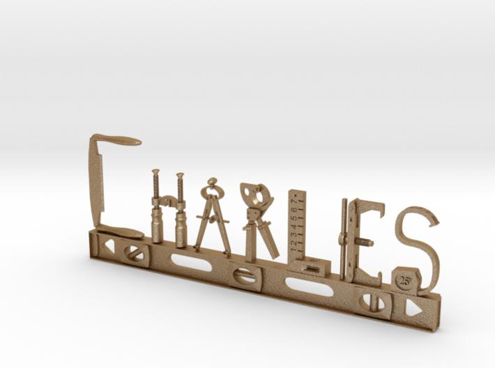 Charles Nametag 3d printed
