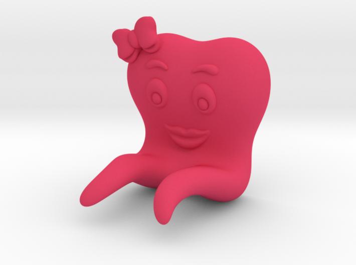 Toothbrush Holder (Girl) 3d printed