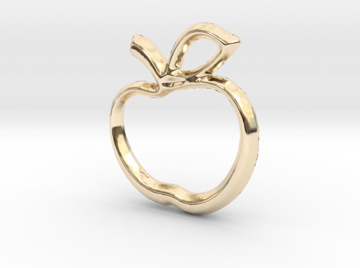 Apple Charm - 11mm 3d printed