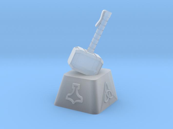 Mjolnir Cherry MX Keycap 3d printed