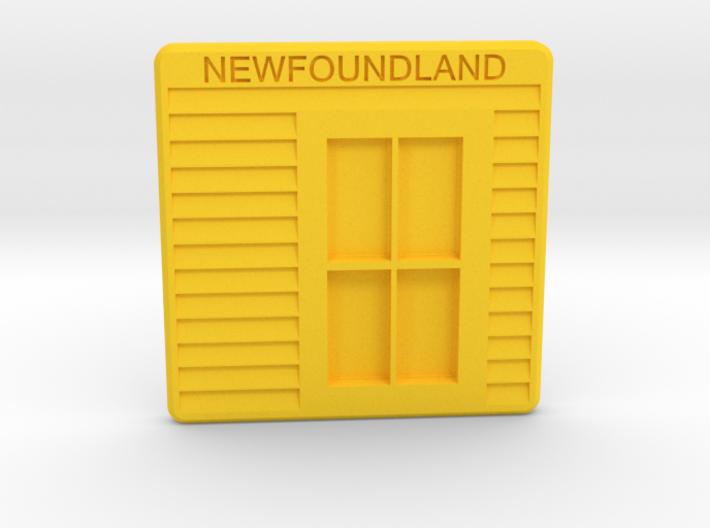 Newfoundland Coast(er) 3d printed
