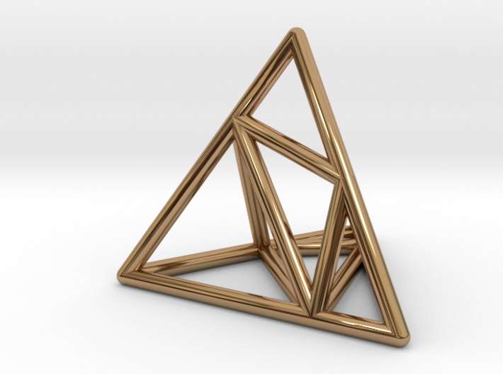 Tessellate Pyramid — DATA IN EXILE 3d printed