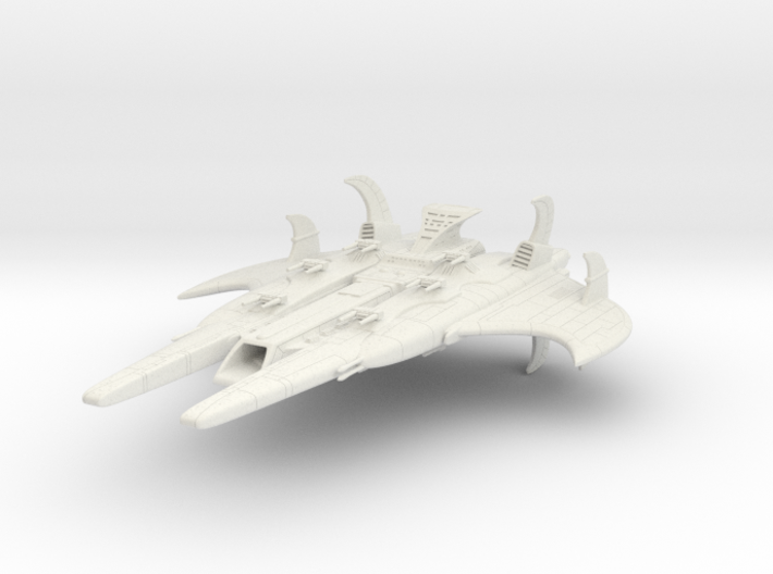 CR Royal Battleship 3d printed