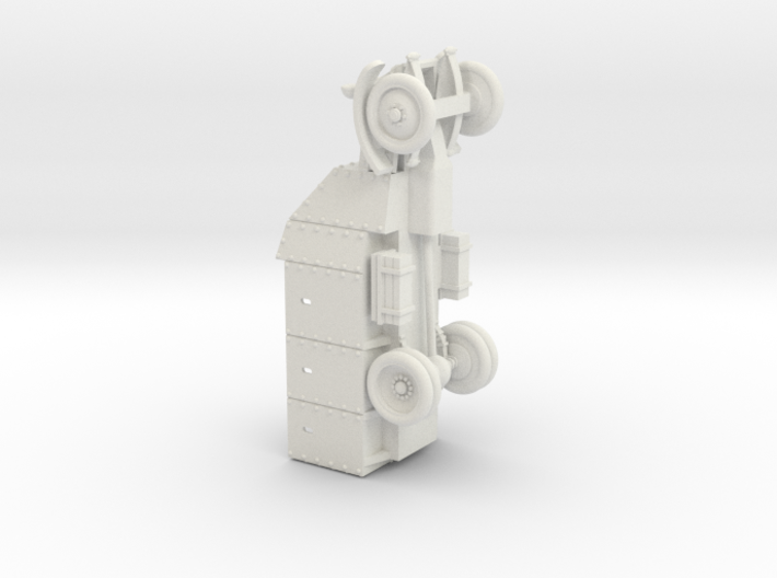 Lancia Armoured Truck 1921 (28mm) 3d printed