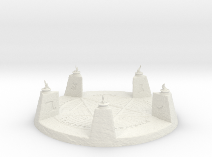 28mm/32mm Demon Summoning Circle Large 3d printed
