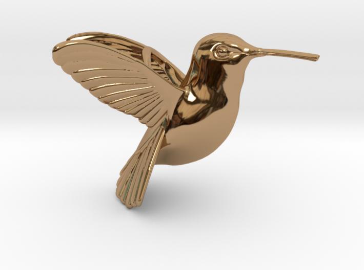 Hummingbird Pendant 3d printed