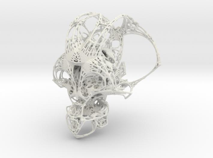 FRACTAL CRANIUM - BIG 3d printed