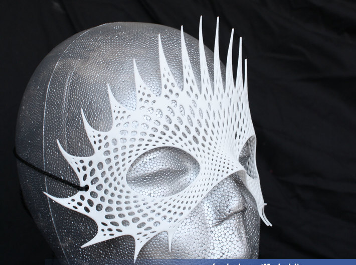 Party Mask 'Mystical Mind' 3d printed Mystical Mind