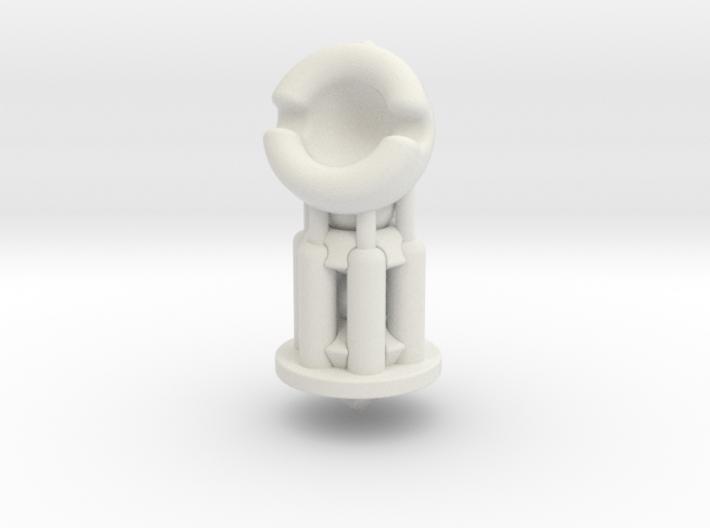 Galaxy Chess - Knight White 3d printed