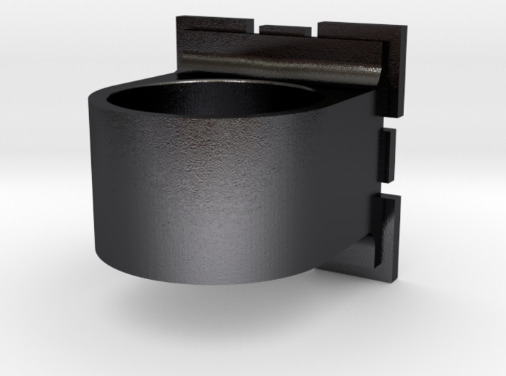 Compainion Cube Ring 3d printed