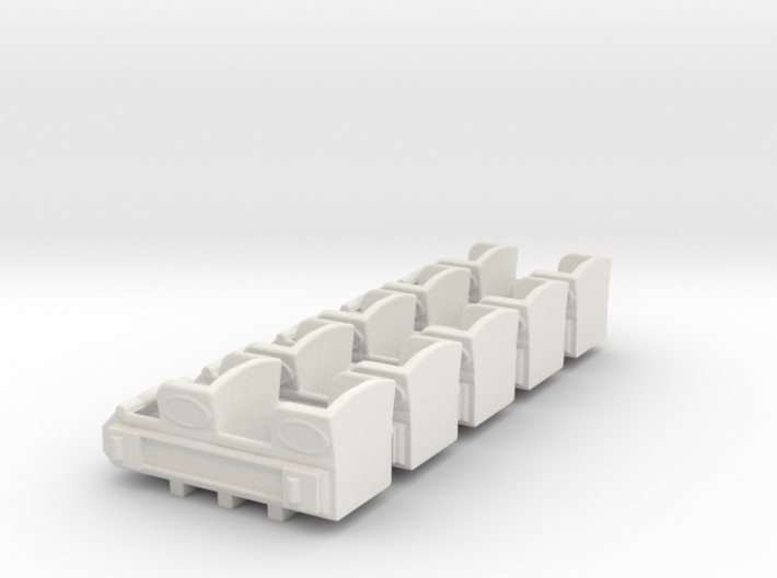 """1890""""s coaster cars HO scale 3d printed"""