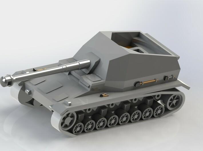 Sturer Emil & Dicker Max Tank Hunters 1/285 6mm 3d printed Dicker Max
