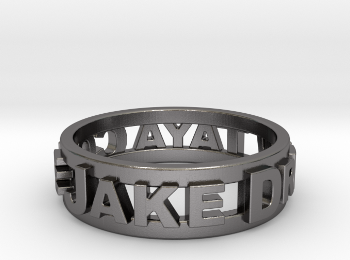 Custom 3D Printed Ring 3d printed