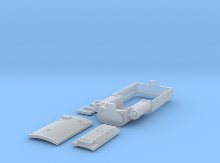 Hispatren 333 to DSB MZ type 2 3d printed