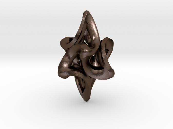 Flame Alpha Pendant 3d printed
