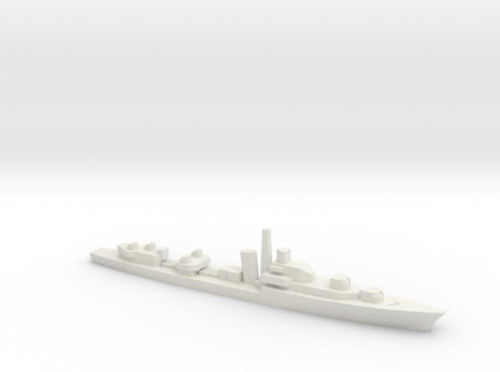 Battle-class destroyer, 1/2400 3d printed