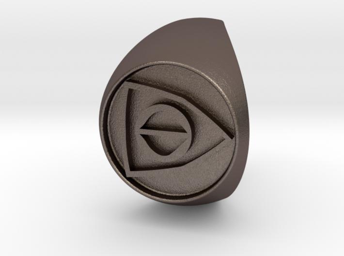 Custom Signet Ring 25 V2 3d printed