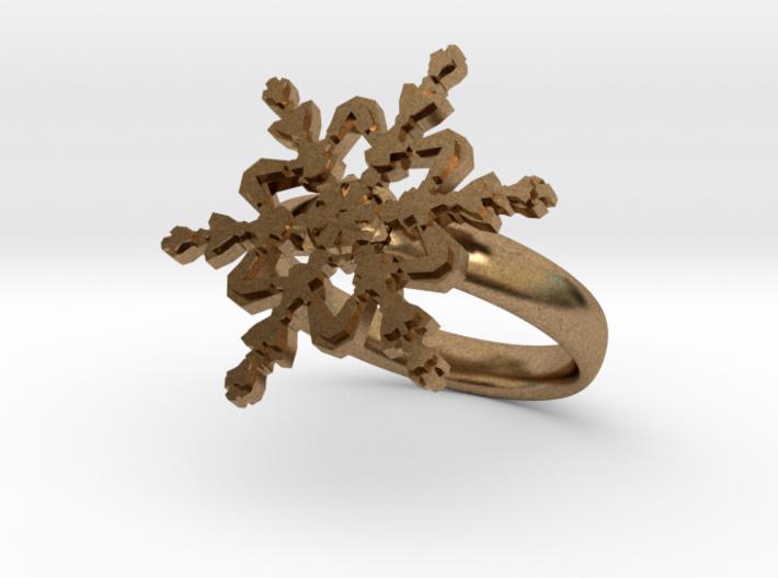 Snowflake Ring 2 d=17.5mm 0h35d175 3d printed