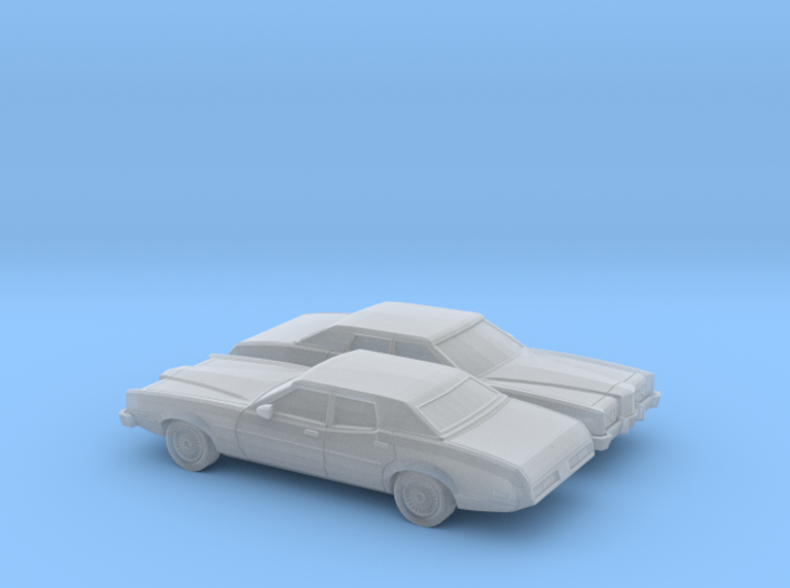 1/160 2X 1972 Mercury Montego Sedan 3d printed